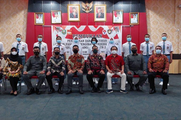 Pembukaan Diklat Paskibraka Tahun 2021 Kabupaten Sanggau