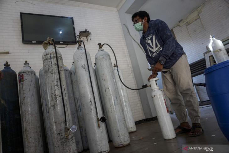 Kebutuhan oksigen di RSUD MTh Djaman Sanggau meningkat