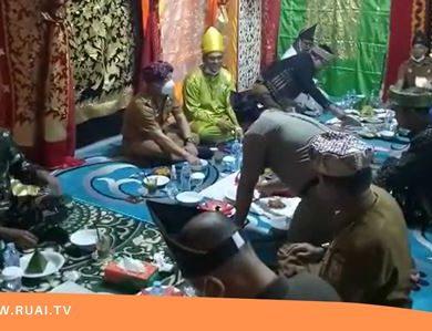 Masyarakat Minang di Sanggau Gelar Ritual Bakaua