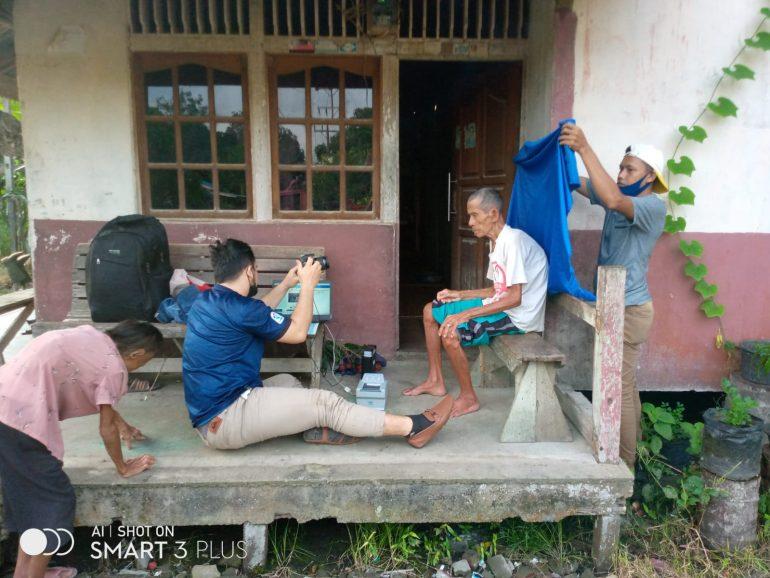 Dukcapil lakukan Jemput Bola bagi Warga Penyandang Berkebutuhan Khusus di Desa Sejuah