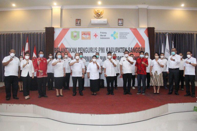 Ny Yohana Kusbariah Ontot Kembali Pimpin PMI Sanggau