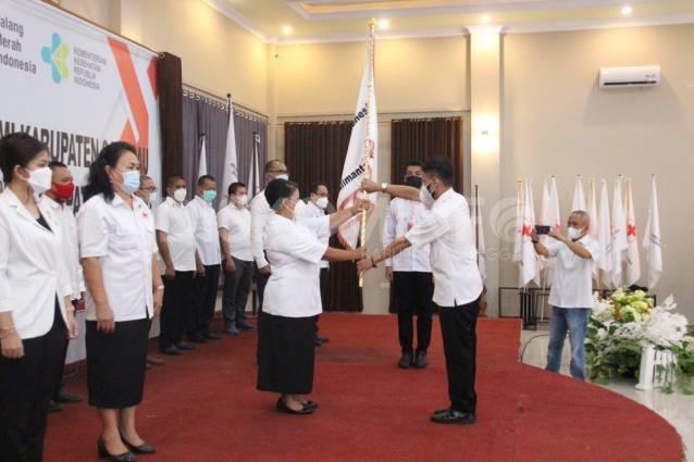 Kembali Terpilih Menjadi Ketua PMI Kab. Sanggau, Yohana Kusbariah Ontot: Ayo Kerja Ikhlas dan Sukarela