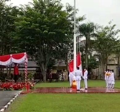 Bupati Sanggau : Memaknai Kemerdekaan RI, Wujud Kekuatan Bersama