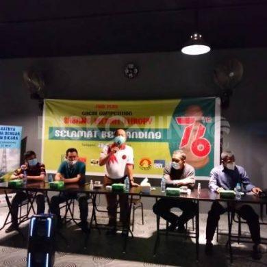 Wabup Sanggau Buka Turnamen Catur Sabang Merah Thropy 2021