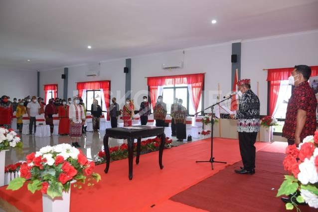 Lantik Pengurus Bunda Literasi Kabupaten Sanggau, Ini Harapan Bupati Sanggau