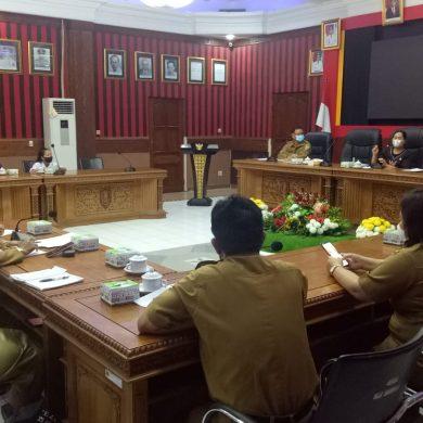 Demi Suksesnya Peringatan HAN di Sanggau, Sejumlah Pihak Gelar Rapat