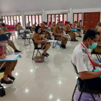 Seleksi Kompetensi Teknis Penulisan Makalah dalam Seleksi Terbuka Jabatan Pimpinan Tinggi Pratama di Lingkungan Pemerintah Kabupaten Sanggau