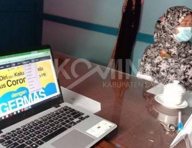 Sosialisasi dan Serah Terima Pengelolaan Website PPID Kecamatan Mukok