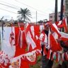 Nasib Penjual Bendera di Sanggau
