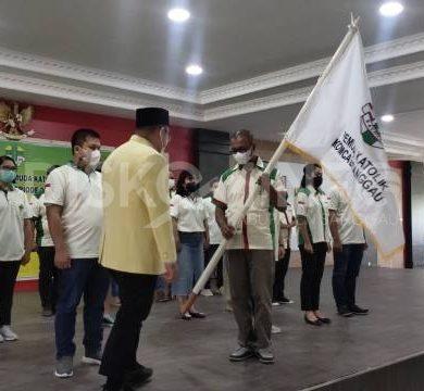 Pelantikan Pengurus Pemuda Katolik Komisariat Cabang Sanggau Periode 2021-2024