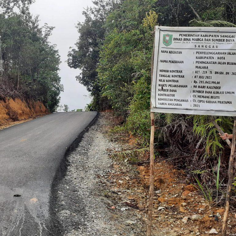 Dinas BMSDA Kabupaten Sanggau telah menyelesaikan penanganan beberapa ruas jajan dalam kota Sanggau – DISBIMASDA