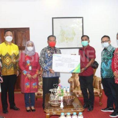 Bupati Sanggau Audiensi Bersama Deputi Direktur BPJS Ketenagakerjaan Kantor Wilayah Kalimantan