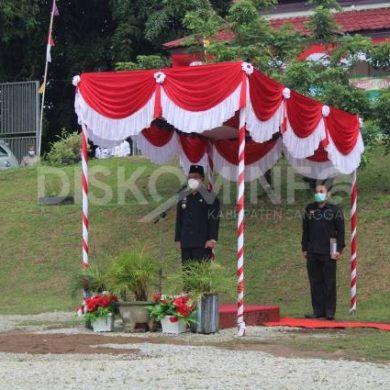 Bupati Sanggau Menghadiri Upacara Peringatan HUT UU Nomor 5 Tahun 1960 (UUPA)
