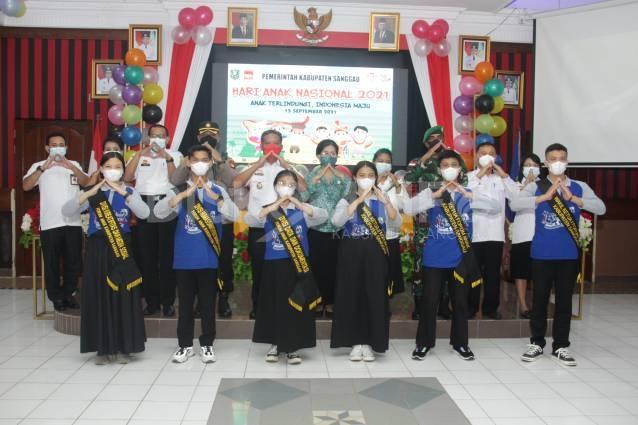 Peringatan Hari Anak Nasional Tahun 2021, Ini Pesan Bupati Sanggau