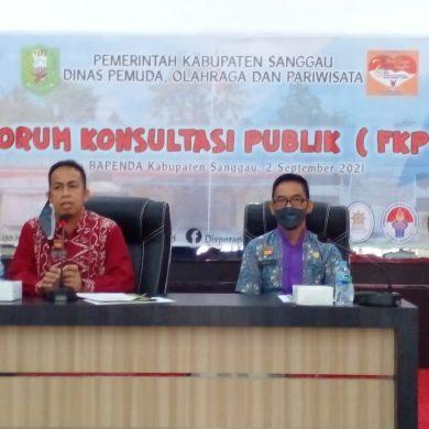 Kegiatan Forum Diskusi Publik - Disporapar Sanggau