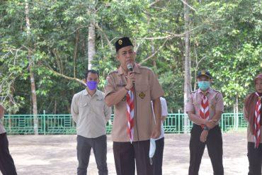 Pelatihan Perdana Saka Pariwisata - DISPORAPAR Sanggau