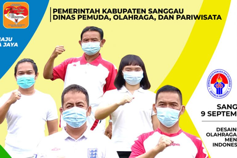 Selamat HAORNAS 2021 - DISPORAPAR Sanggau