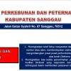 Hasil Penilaian Kepatuhan Terhadap Standar Pelayanan Publik Dinas Perkebunan dan Peternakan Kabupaten Sanggau Tahun 2021