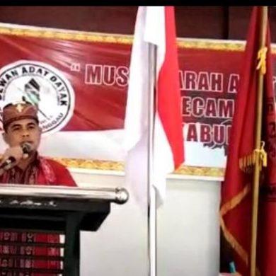 Ketua DAD Tayan Hulu Rencanakan Bangun Rumah Betang