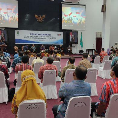 Ketua DPRD Kab. Sanggau Hadiri Rakor Yang Dilaksanakan KPK di Kantor Gubernur Kalbar