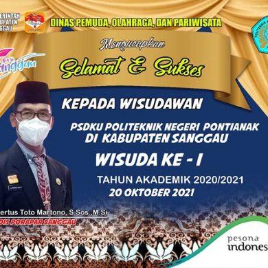Selamat dan Sukses Wisudawan PSDKU Politeknik Negeri Pontianak
