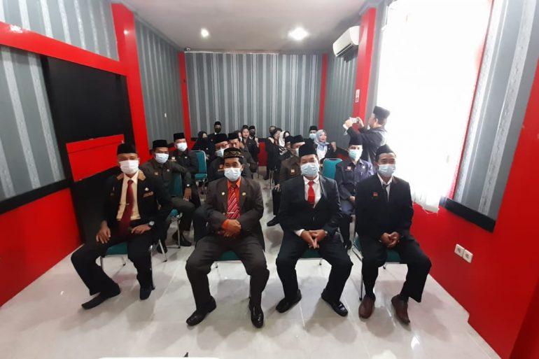 Virtual: Pelantikan/pengukuhan pejabat administrator dan Pengawas