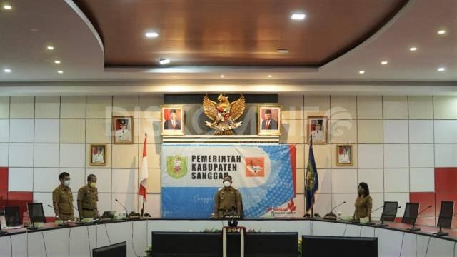 Sebagai Opening Speaker Pada Webinar Pendidikan Di Kabupaten Kubu Raya, Bupati Sanggau: Dukung SDM Guru Tingkatkan Kecakapan Digital