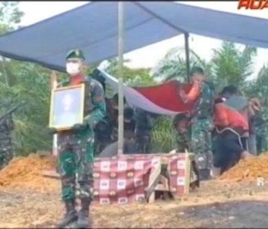 Pemakaman Prajurit Asal Sanggau yang Meninggal di Papua – VIDEO