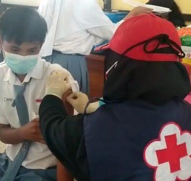 7 Ribu Orang Terima Vaksinasi dari PMI Sanggau
